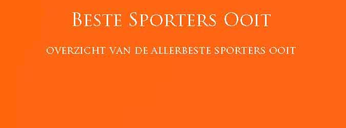 Beste Sporters Ooit