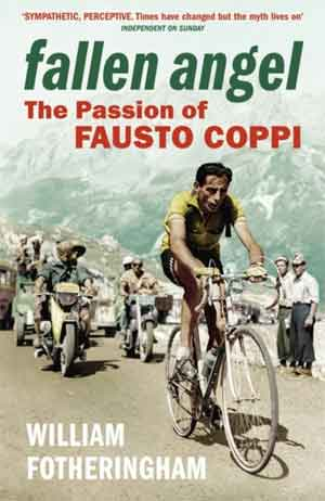 Boek over Fausto Coppi William Fotheringham Fallen Angel