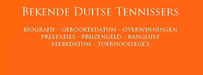 Duitse Tennissers