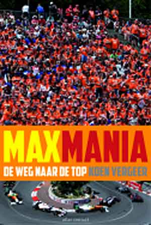 Koen Vergeer Maxmania Boek over Max Verstappen Recensie