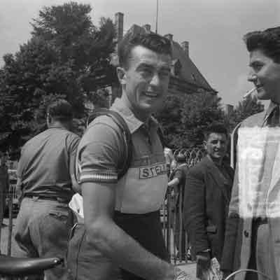 Louison Bobet Franse Wielrenner Tour de France 1951