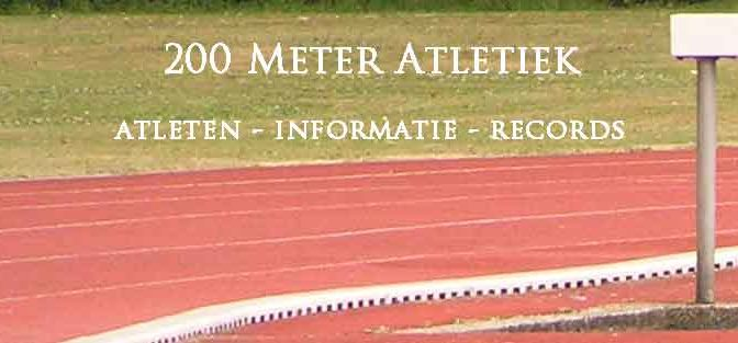 200 Meter Atletiek 200 Meter Lopers Records