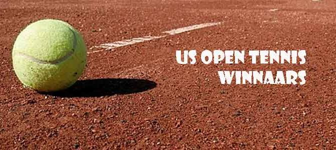 US Open Tennis Winnaars en Winnaressen