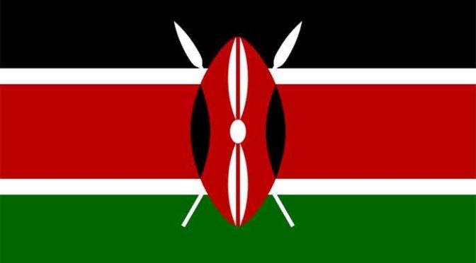 Keniaanse Marathonlopers Kenia